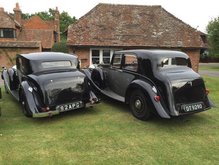 car on the left is a LG45 Freestone & Webb Saloon. Car on the right is a LG45 Lagonda bodied saloon