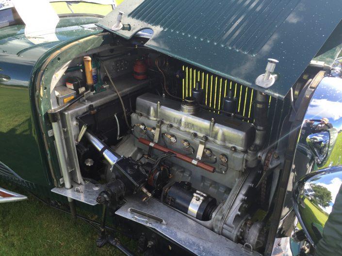 16/80 engine bay